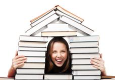 Education bring you house Stock Images