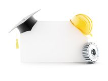 Education builder Stock Photo