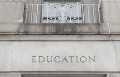 Education building Stock Image