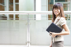Education / Business woman Royalty Free Stock Photo