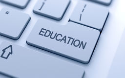 Education button Stock Image