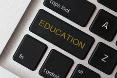 Education button Royalty Free Stock Photo