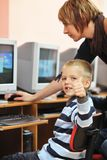 It education with children in school Royalty Free Stock Photos