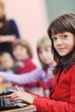 It education with children in school Stock Images