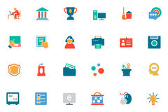 Education Colored Vector Icons 4 Stock Photography