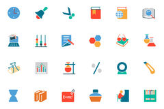 Education Colored Vector Icons 11 Royalty Free Stock Photography