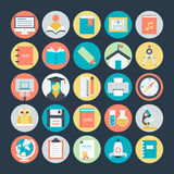 Education Colored Vector Icons 2. We are offering Education icons set which consists equipments related education, study and teaching. They are intended to be Royalty Free Stock Images