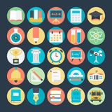 Education Colored Vector Icons 1. We are offering Education icons set which consists equipments related education, study and teaching. They are intended to be Royalty Free Stock Images