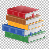 Education Concept with Books Royalty Free Stock Photos