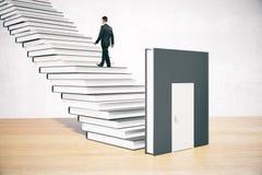 Education concept businessman interior Stock Photography