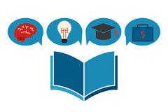 Education concept icon Royalty Free Stock Image