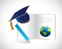 Education concept illustration design Stock Photo