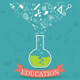 Education concept royalty free illustration