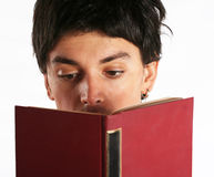 Education concept - reading Stock Images