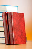 The education concept with red cover books Stock Photography