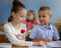 Education concept, schoolchildren Stock Photo