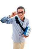 Education concept with student Royalty Free Stock Image