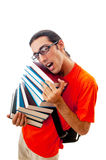 Education concept with student Stock Photo