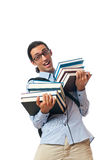 Education concept - student Stock Image