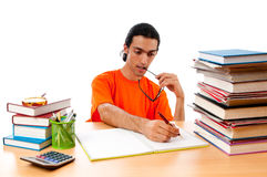 Education concept - student Stock Photos