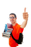 Education concept - student Royalty Free Stock Photo