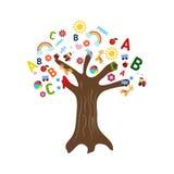 Education concept tree Stock Photo