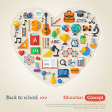 Education concept. Vector illustration. Back to Stock Images