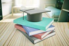 Education concept on wooden desk Stock Photos