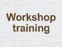 Education concept: Workshop Training on fabric Stock Photography