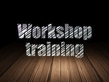 Education concept: Workshop Training in grunge Stock Photos