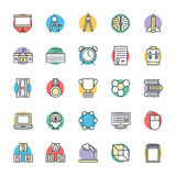 Education Cool Vector Icons 4 Stock Image