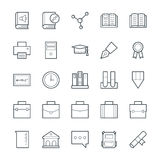Education Cool Vector Icons 3 Stock Image