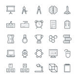 Education Cool Vector Icons 4 Royalty Free Stock Image