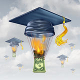 Education Cost Royalty Free Stock Photos