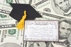 Education Costs Royalty Free Stock Image