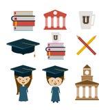 Education design,vector illustration. Royalty Free Stock Image