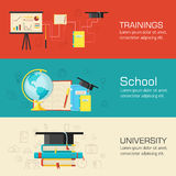 Education distance, online and academic school Stock Photo