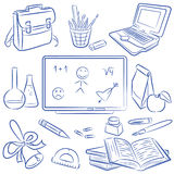 Education doodle Stock Photography