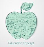 Education Doodle Concept Royalty Free Stock Photography