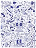 Education - doodles collection Stock Photos