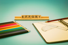 Education is Effort Royalty Free Stock Photos