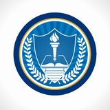 Education emblem Royalty Free Stock Images
