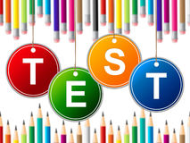 Education Exam Means Questionnaire College And Learned Stock Images