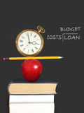 Education expenses royalty free stock photography