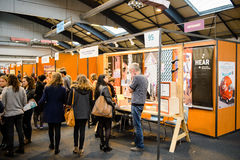 Education Fair to choose career path and vocational counseling Stock Photography