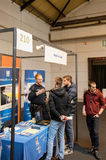 Education Fair to choose career path and vocational counseling Royalty Free Stock Photos