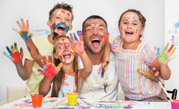 Education and family concept Royalty Free Stock Photo