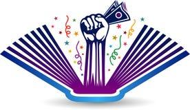Education fees logo Royalty Free Stock Images