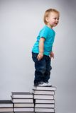 Education is a first step to better life Royalty Free Stock Photo