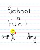 Education is Fun Royalty Free Stock Photos